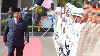 Menteri Pertahanan Prabowo