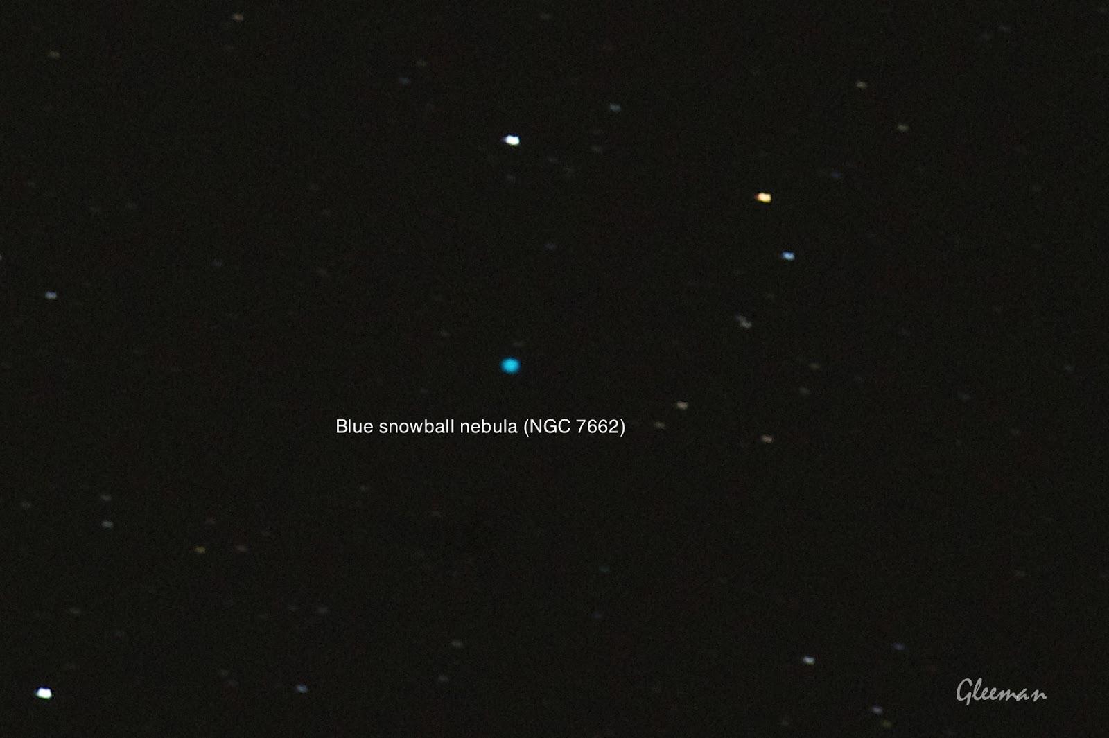 仙女座的藍雪球星雲 blue snowball / Pentax Pentax 75SDHF + 1.4XL + K5 ,O-GPS1 Astrotracer