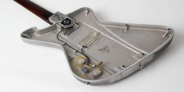Wild Customs Firewild EMD Aluminum Body Guitar with All Rosewood Neck