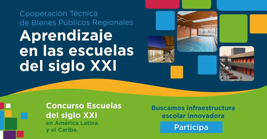 BID: Convocan a «Concurso Escuelas Siglo XXI» en América Latina y El Caribe - www.iadb.org