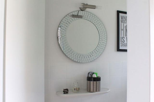 Schoen dass du da bist Badezimmer Makeover mit wenig Aufwand Jules kleines Freudenhaus