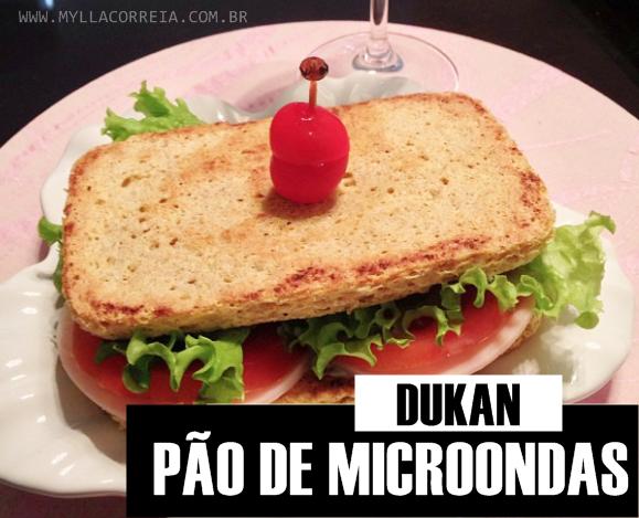Pão de Microondas DUKAN