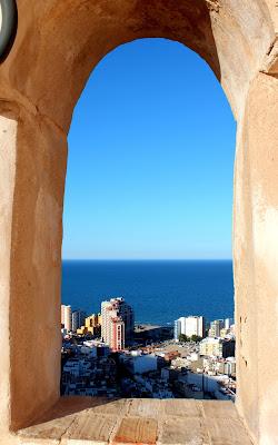 Vistas desde el castillo de Cullera