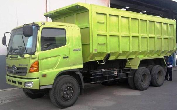 dump truk tronton hino lohan