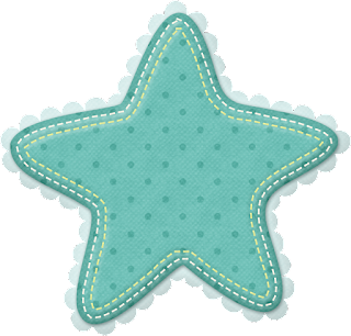 Frames and Stars of the Baby Boy Clip Art.