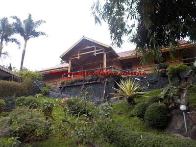 villa di ciater pemandian air panas ciater