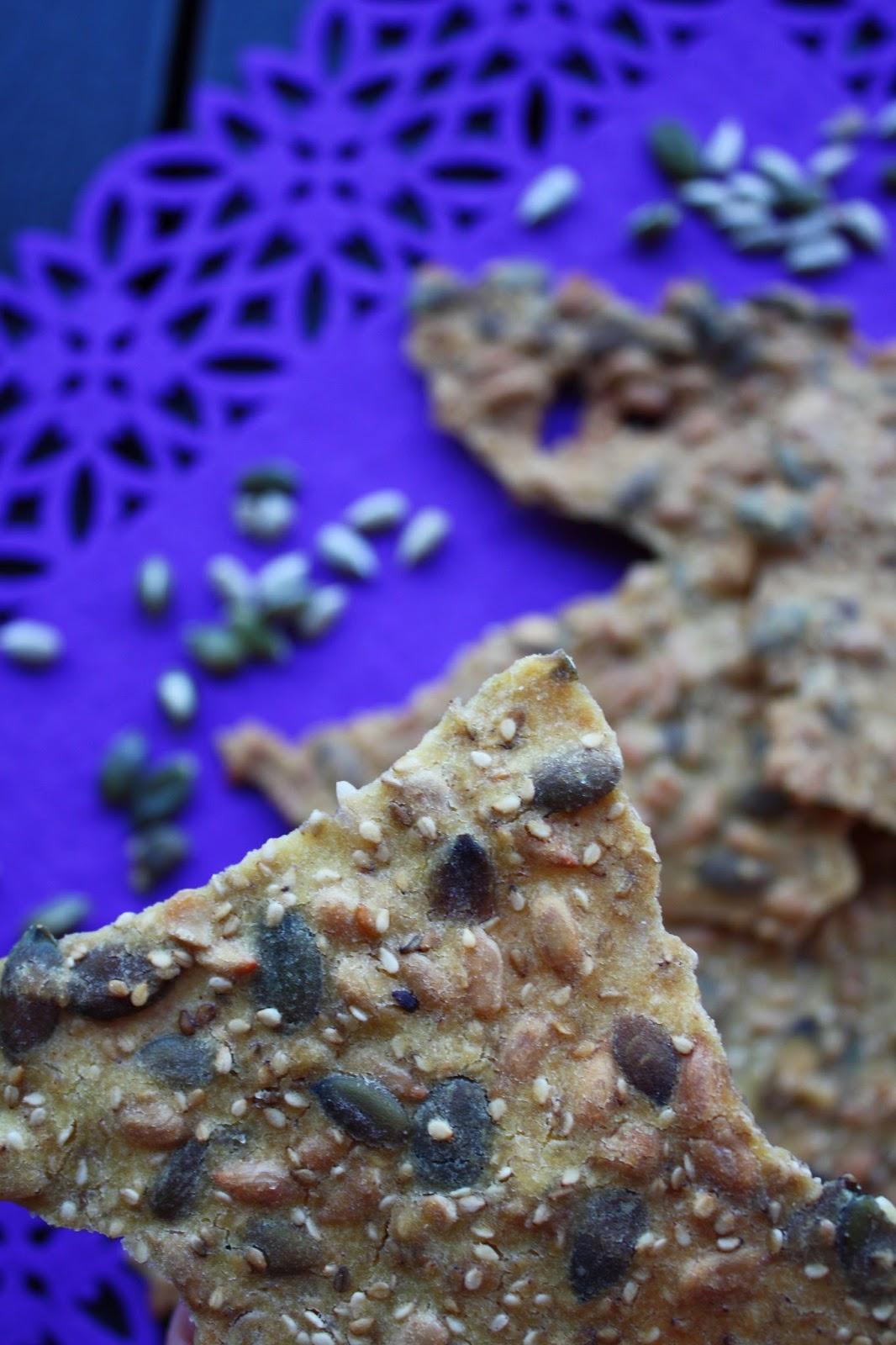 siemennäkkileipä näkkileipä näkkäri siemenet leivonta