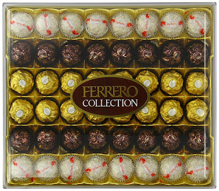 Chocolate for xmas, special price £9.60 Ferrero 48 Piece Collection, best seller