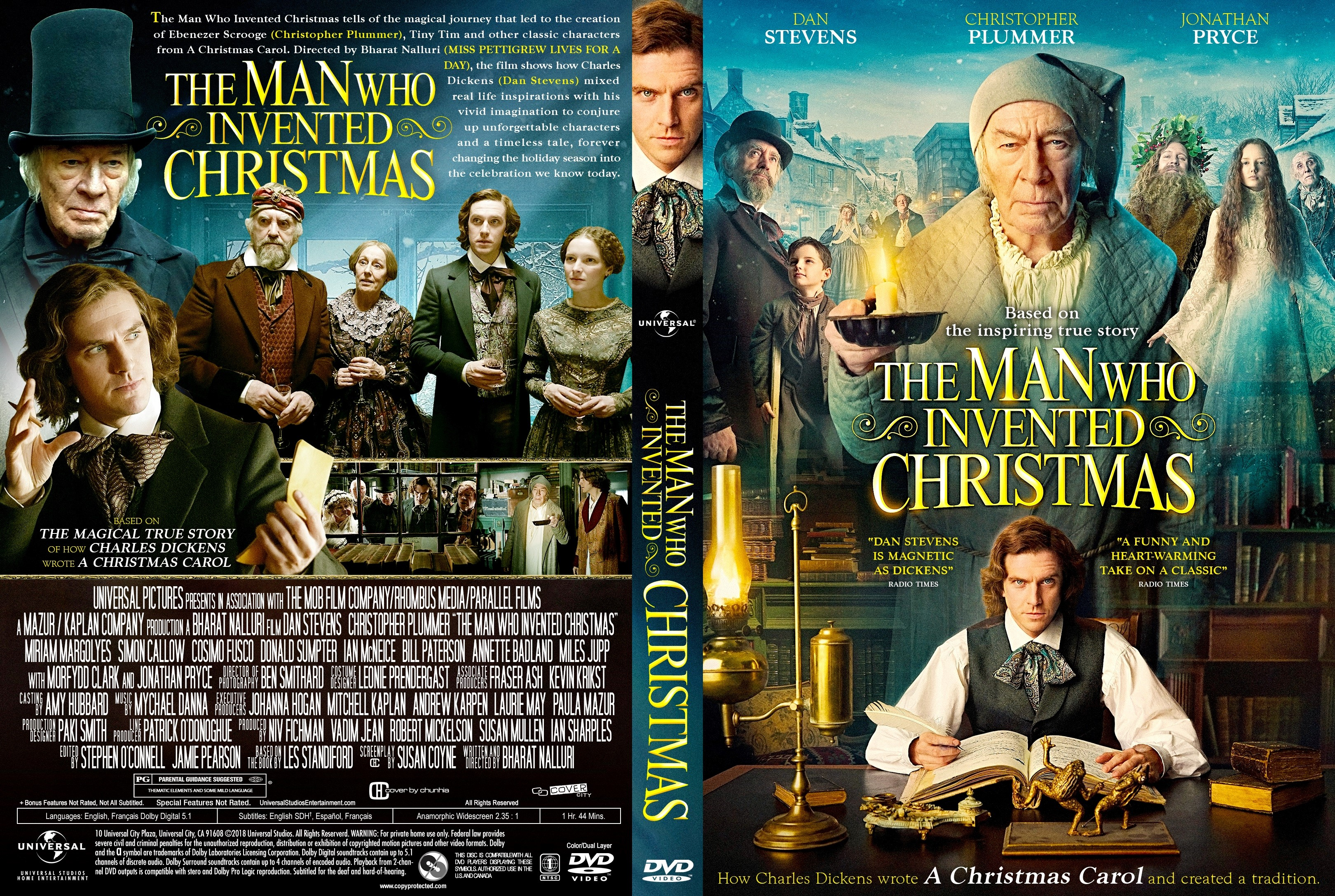 the man who invented christmas dvd cover - When Was Christmas Invented