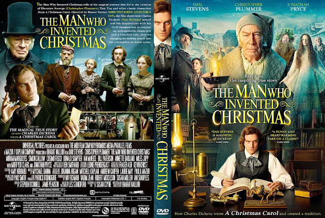 The Man Who Invented Christmas DVD Cover