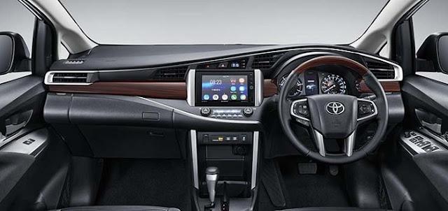 Mobil Yang Paling Nyaman Untuk Mudik Interior Toyota Kijang Innova