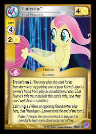 My Little Pony Fluttershy, Kind Seapony Seaquestria and Beyond CCG Card