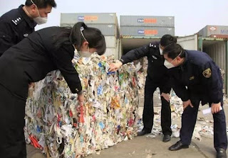 foreign garbage china