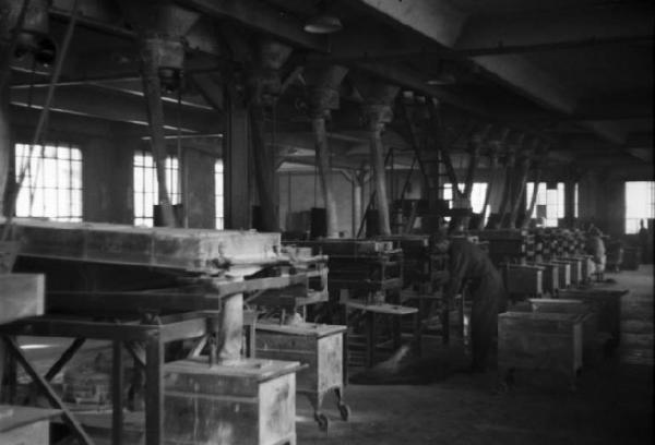 Участок подачи сыпучих наполнителей шинного завода