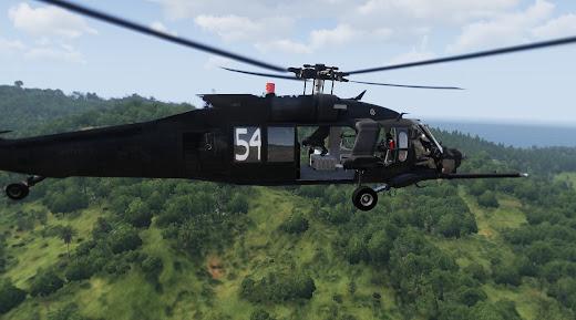 Arma3用SOAR MODのMH-60M
