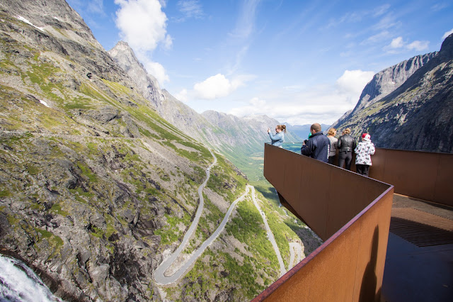 Trollstigen og Stifossen-Strada panoramica