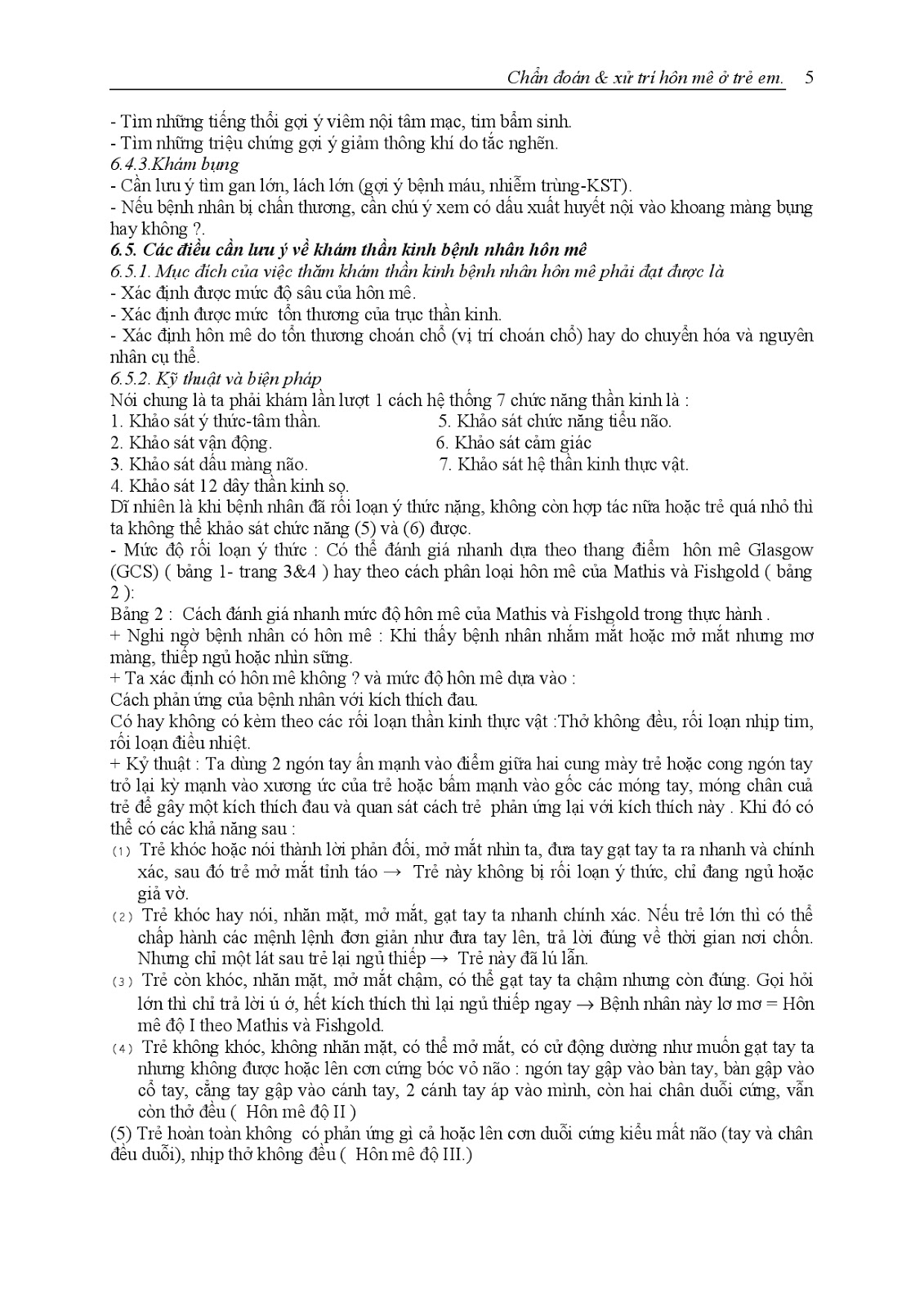 Trang 6 sach Bài giảng Nhi khoa III (Sơ sinh - Cấp cứu - Thần kinh - Chăm sóc sức khỏe ban đầu) - ĐH Y Huế
