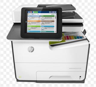 HP PageWide Enterprise Color 586 MFP can Print mit der Geschwindigkeit von 50 Seiten pro Minute in schwarz-weiß. Es druckt auch mit der gleichen Geschwindigkeit in den Farben.