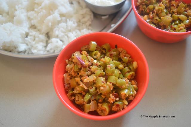 Beans stir fry/Beans Poriyal