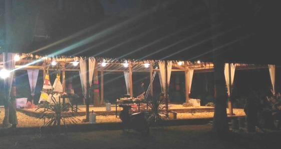 Suasana ,Malam Ini, Di, Pantai Sunari Selayar