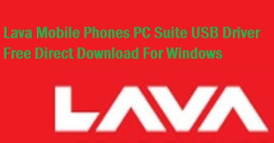 Direct Free Download PC Suite Lava