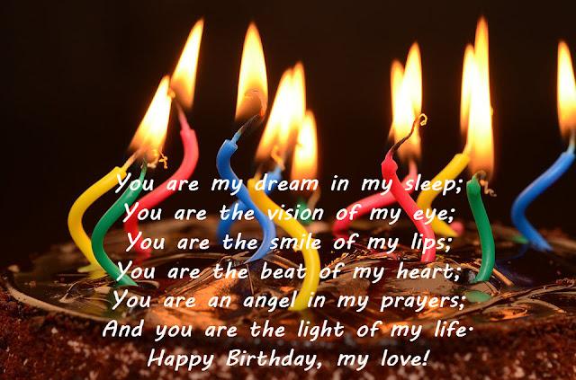 Romantic Birthday Wishes for Girlfriend - Birthday Wishes
