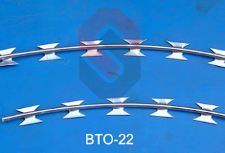 Kawat Duri Silet Razor wire | Setajam silet harga terjangkau