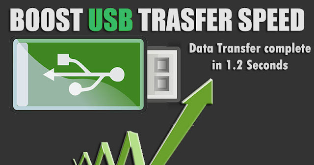 How To Boost Transfer Speed Of Any Pendrive