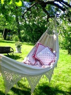 verano en el jardín