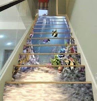 Decoración de escaleras