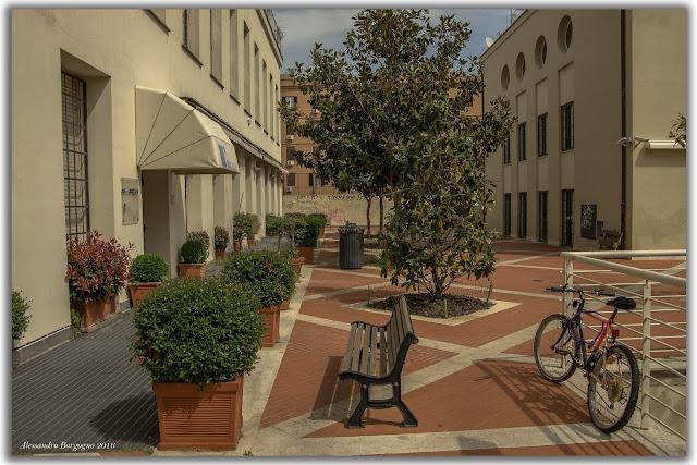 Ex edificio Pantanella, Roma