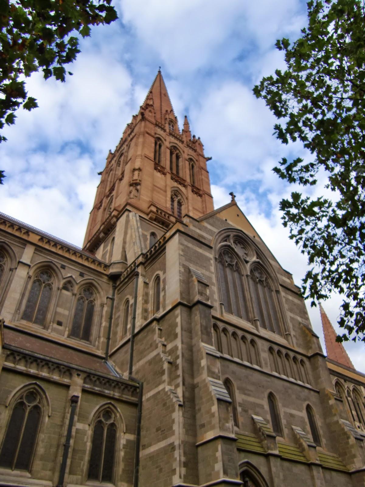 [澳洲工作假期系列] 聖保羅教堂 & 聯邦廣場 1