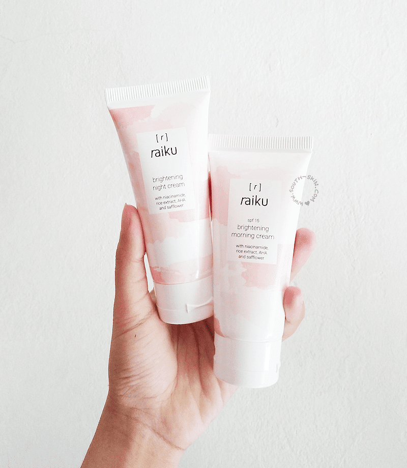 review-raiku-beauty-brightening-cleansing-series