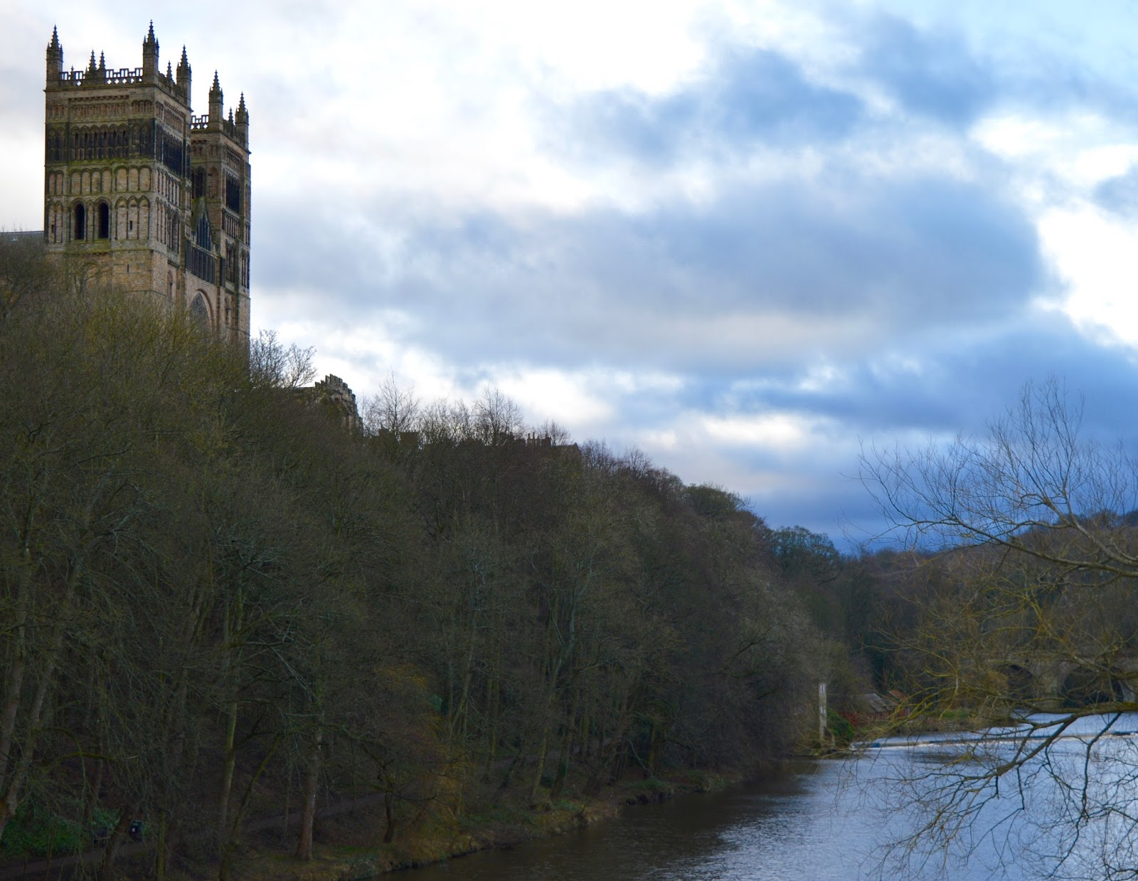 Fire and Ice Durham 2017 | Photographs & Top Tips for 2018 - Durham cathedral from river