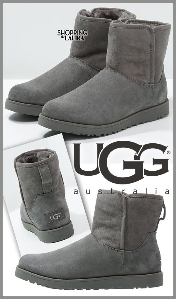 Bottines basses fourrées grises femme UGG