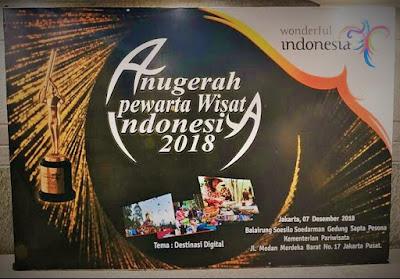 kementerian pariwisata menyelenggarakan anugerah pewarta wisata indonesia setiap tahun