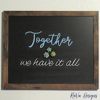 succulent chalkboard quotes ideas wood frame loddie doddie