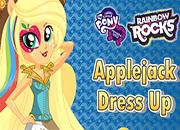 Rainbow Rocks Applejack Dress Up