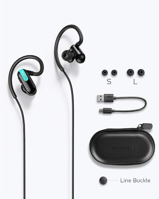 Xcentz Bluetooth Headphones - Wireless Sport Earbuds image