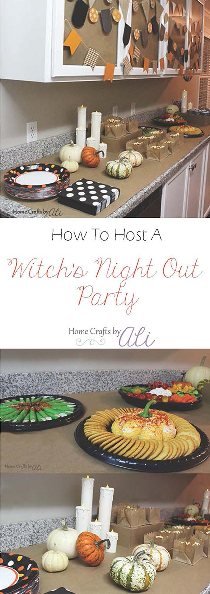 how to host a witch's night out party halloween girls night