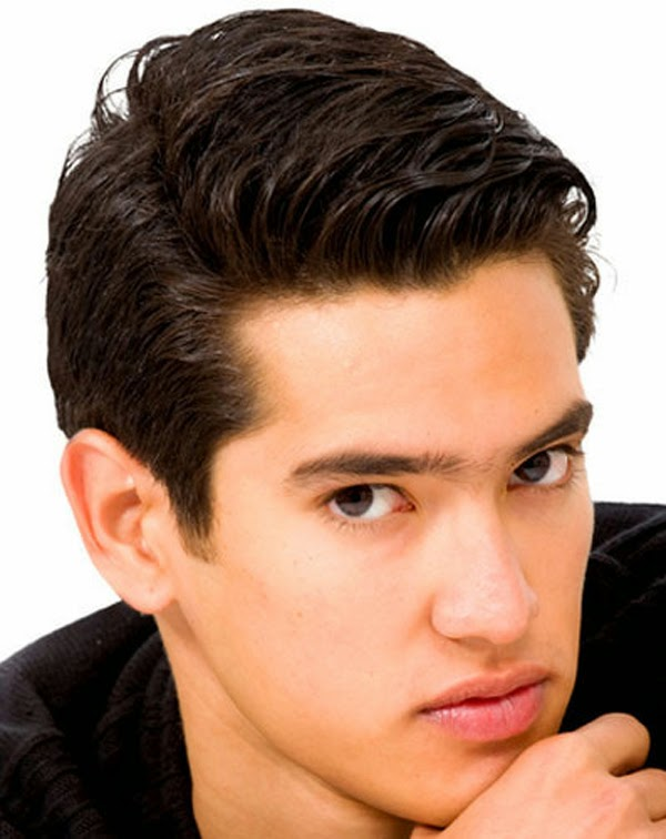Simple Medium Length Hairstyles for Men