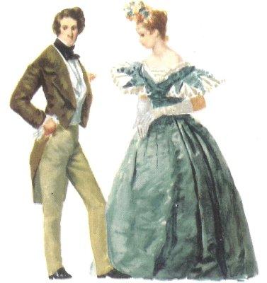 Indumentaria del Siglo XIX