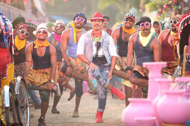 Jiiva's Pokiri Raja Tamil Movie Song Shooting PhotoShoot Images HD