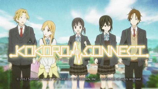 Kokoro Connect - Daftar Anime Buatan Silver Link Terbaik