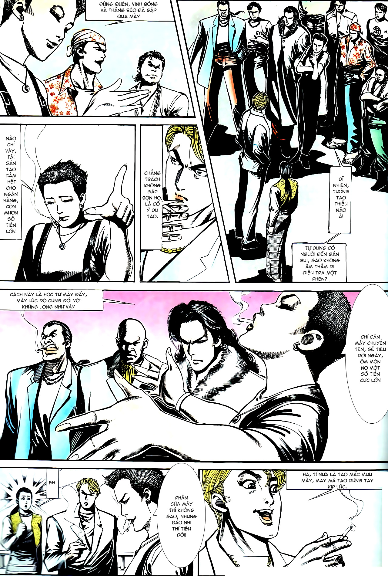 Người Trong Giang Hồ chapter 147: vĩnh biệt kk trang 10