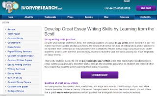 IvoryResearch.net Essay Writing Service Picture