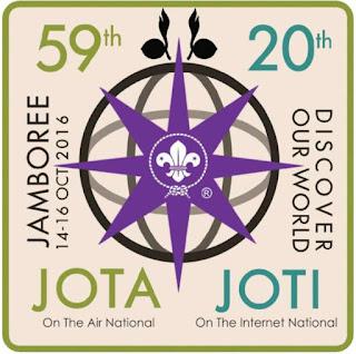 Logo JOTA-JOTI Nasional 2016