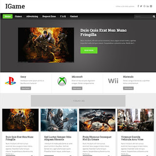 I-game-blogger-template