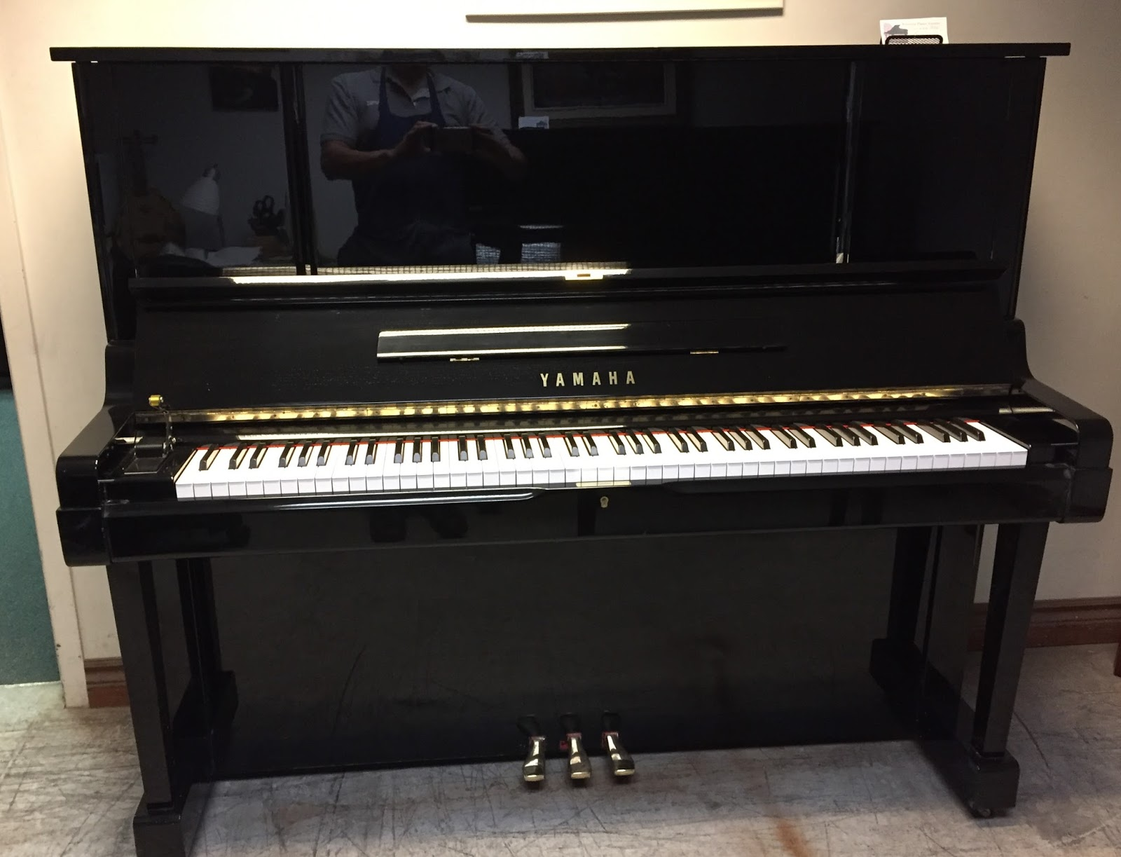 "Used piano sale in Toronto area: Yamaha YUX 52"" upright piano"