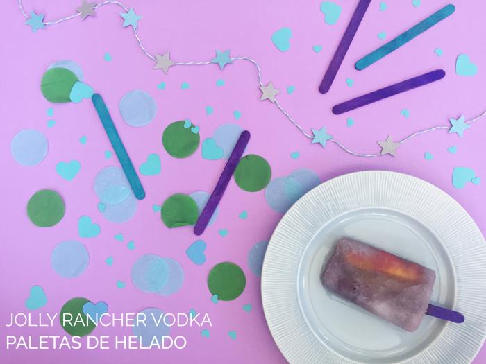 Valentina Vaguada: jolly rancher, popsicles, paleta de helado, recipe, receta, sweet, valentines day